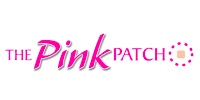 logo Pink Patch