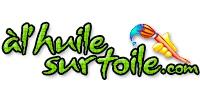 logo A l'huile sur toile