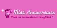 logo Miss anniversaire